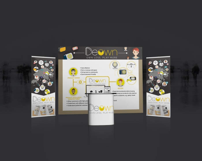 Trade Exhibition Stand Mockup01