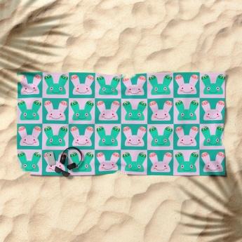twins-plant-kids-beach-towels
